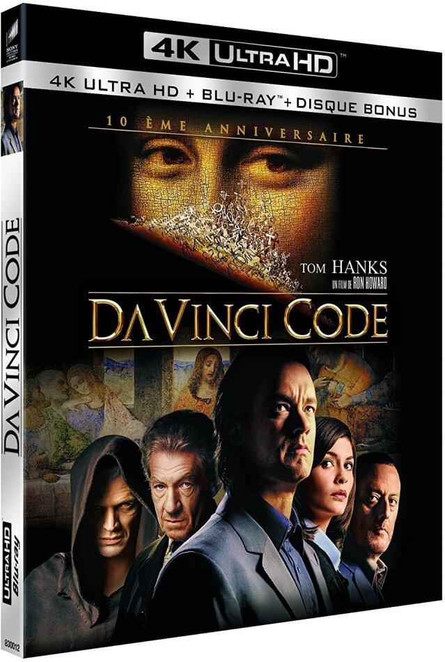 Da Vinci Code (2006) (4K Ultra HD + 2 Blu-rays)