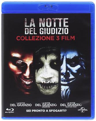 La notte del giudizio - Collezione 3 Film (3 Blu-rays)