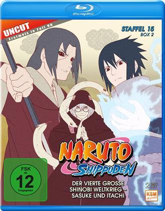 Naruto Shippuden - Staffel 15 Box 2 (Uncut, 2 Blu-rays)