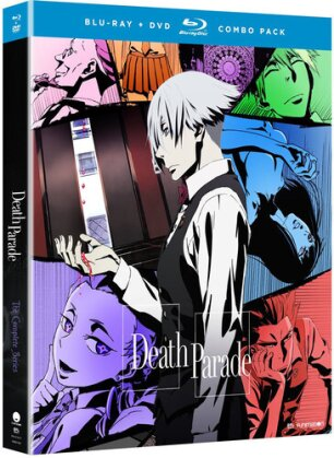 Death Parade - The Complete Series (2 Blu-rays + 2 DVDs)