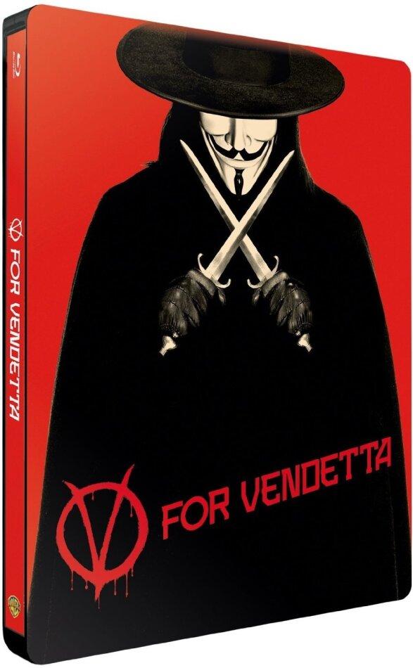V for Vendetta (2005) (Limited Edition, Steelbook)