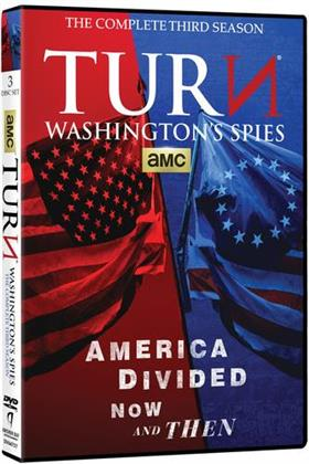 TURN - Washington's Spies - Season 3 (3 DVDs)
