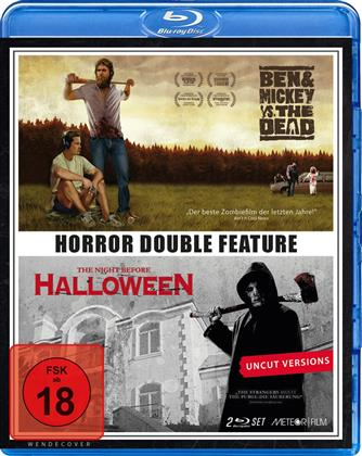 Horror Double Feature - Ben & Mickey vs. The Dead / The Night before Halloween (Uncut, 2 Blu-rays)