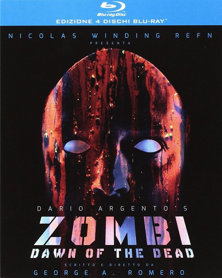 Zombi - Dawn of the Dead (1978) (European Cut, Theatrical Version, Extended Version, Limited Edition, 4 Blu-rays)