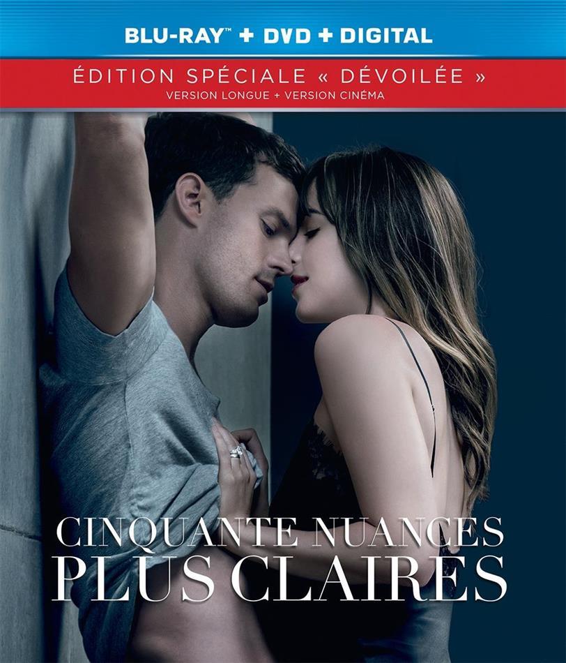 Cinquante nuances plus claires (2018) (Edition Dévoilée, Kinoversion, Langfassung, Blu-ray + DVD)