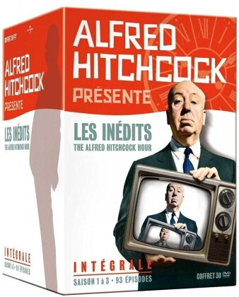 Alfred Hitchcock présente - Les inédits - The Alfred Hitchcock Hour - Intégrale (Box, s/w, 30 DVDs)