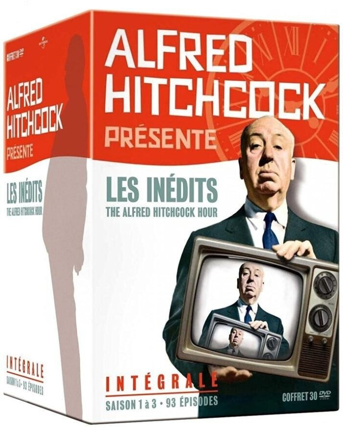 Alfred Hitchcock présente - Les inédits - The Alfred Hitchcock Hour - Intégrale (Box, s/w, 30 DVDs)