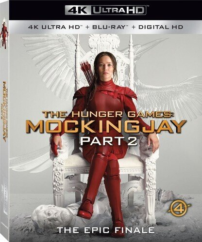 The Hunger Games - Mockingjay - Part 2 (2015) (4K Ultra HD + Blu-ray)