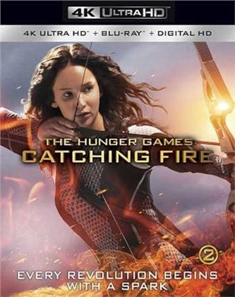 The Hunger Games - Catching Fire (2013) (4K Ultra HD + Blu-ray)