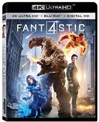 Fantastic Four - Fantastic Four / (Dhd) (2015) (Blu-ray + 4K Ultra HD)