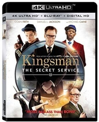 Kingsman - The Secret Service (2014) (Blu-ray + 4K Ultra HD)