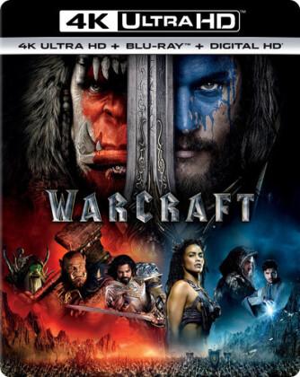 Warcraft (2016) (4K Ultra HD + Blu-ray)