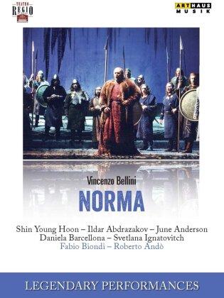 Orchestra Europa Galante, Fabio Biondi, … - Bellini - Norma (Legendary Performances, Arthaus Musik)