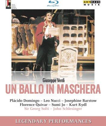 Wiener Philharmoniker, Sir Georg Solti, … - Verdi - Un ballo in maschera (Legendary Performances, Salzburger Festspiele, Arthaus Musik)