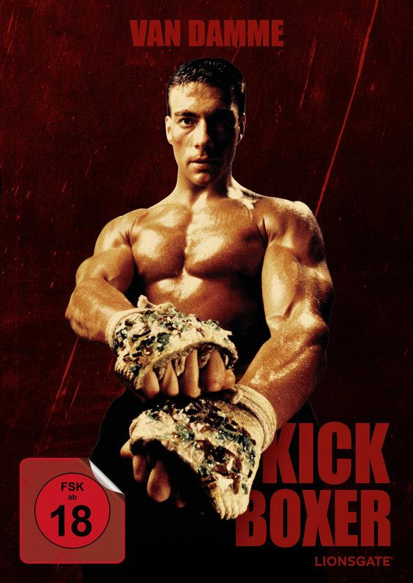 Kickboxer (1989) (Cover B, Mediabook, Blu-ray + DVD)