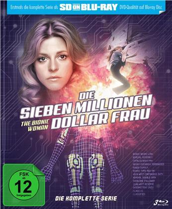 Die Sieben Millionen Dollar Frau - Die komplette Serie (Limited Edition, Mediabook, 3 Blu-rays)