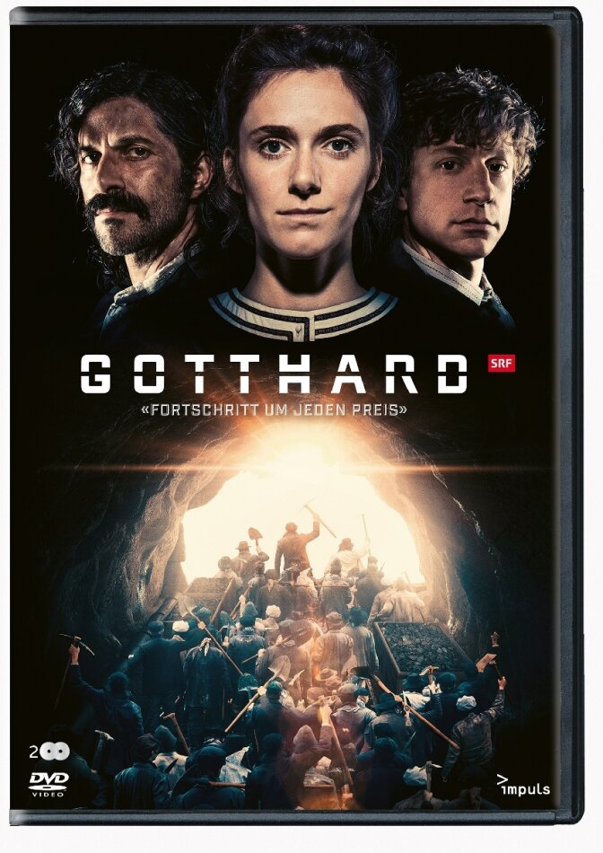 Gotthard - Fortschritt um jeden Preis (2016) (2 DVDs)