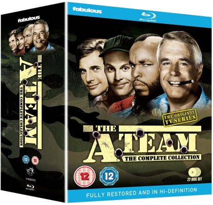 The A-Team - The Complete Collection (22 Blu-rays)