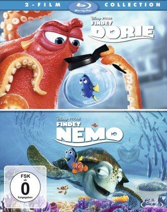 Findet Dorie / Findet Nemo (2 Blu-rays)