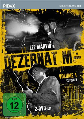 Dezernat M - Vol. 1 (Pidax Serien-Klassiker, s/w, 2 DVDs)