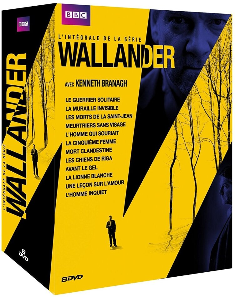 Wallander - Saison 1-4 (BBC, 8 DVDs)