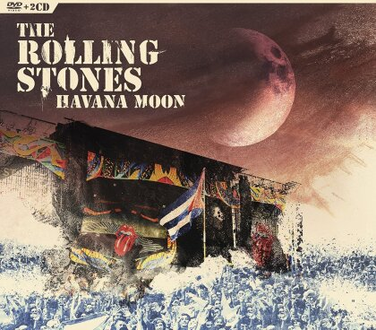 The Rolling Stones - Havana Moon - Live in Cuba (DVD + 2 CDs)