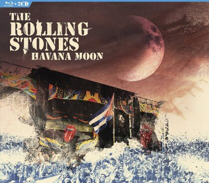 The Rolling Stones - Havana Moon - Live in Cuba (Blu-ray + 2 CDs)