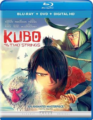 Kubo and the Two Strings (2016) (Blu-ray + DVD)