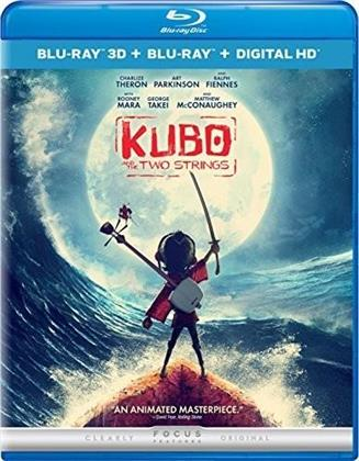 Kubo and the Two Strings (2016) (Blu-ray 3D + Blu-ray)