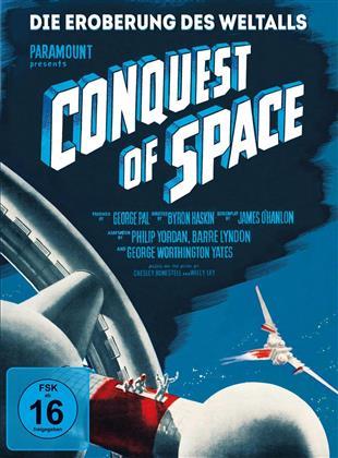 Die Eroberung des Weltalls - Conquest of Space (1955) (Mediabook, Edizione Limitata, Blu-ray + DVD)