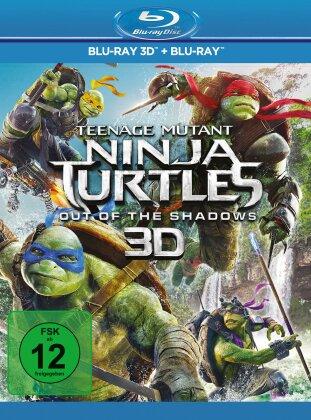 Teenage Mutant Ninja Turtles 2 - Out Of The Shadows (2016) (Blu-ray 3D + Blu-ray)