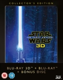 Star Wars - Episode 7 - The Force Awakens (2015) (Collector's Edition, Blu-ray 3D + 2 Blu-ray)