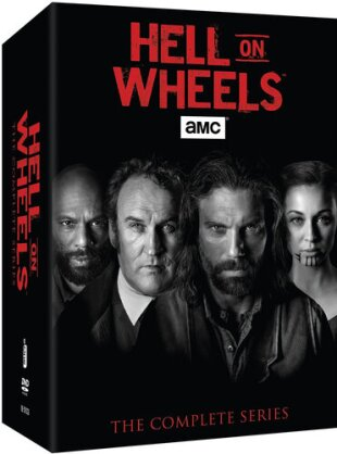Hell on Wheels - The Complete Series (17 DVDs)