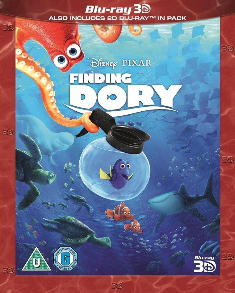 Finding Dory (2016) (Blu-ray 3D + Blu-ray)