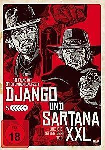 Django und Sartana XXL - 15 Spielfilme Box (5 DVDs)