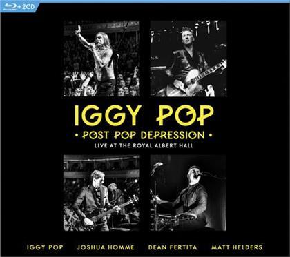 Iggy Pop - Post Pop Depression - Live at The Royal Albert Hall (3 Blu-rays + CD)