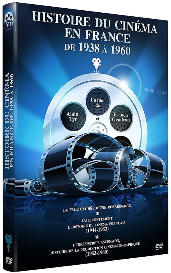 Histoire du cinéma en France de 1938 à 1960 (s/w, 3 DVDs)