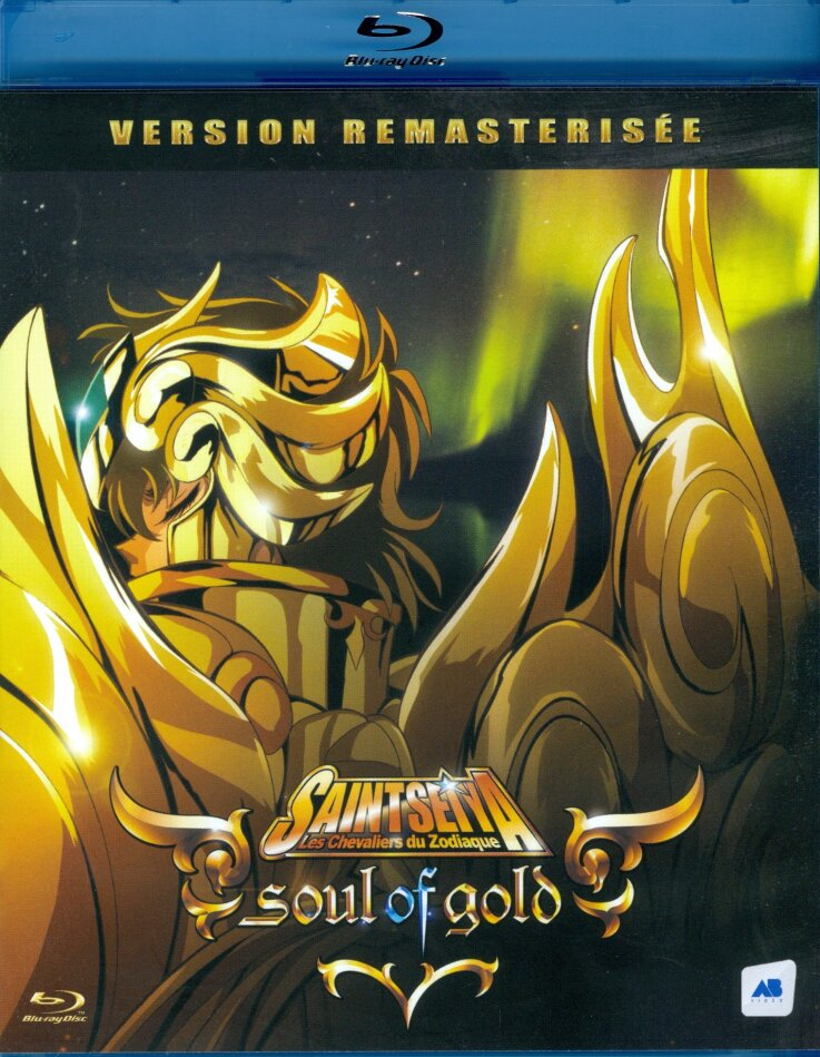 Saint Seiya - Les chevaliers du Zodiaque - Soul of Gold (2015) (Remastered, 2 Blu-rays)