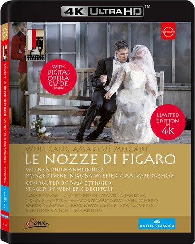 Wiener Philharmoniker, Dan Ettinger, … - Mozart - Le nozze di Figaro (Euro Arts, Salzburger Festspiele)