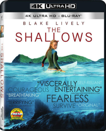 The Shallows (2016) (4K Ultra HD + Blu-ray)