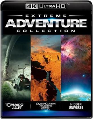 Extreme Adventure Collection - Tornado Alley / Grand Canyon Adventures: River at Risk / Hidden Universe (4K Mastered, Imax)