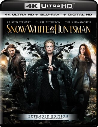 Snow White and the Huntsman (2012) (4K Ultra HD + Blu-ray)