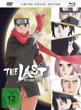 Naruto - The Last - The Movie (2014) (Limited Special Edition, Mediabook, Blu-ray + DVD)