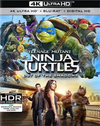 Teenage Mutant Ninja Turtles - Out of the Shadows (2016) (4K Ultra HD + Blu-ray)
