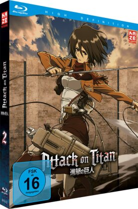 Attack on Titan - Staffel 1 - Vol. 2