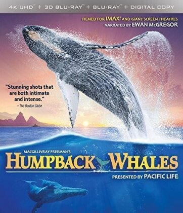 Humpback Whales (4K Mastered, Imax, 4K Ultra HD + Blu-ray 3D + Blu-ray)