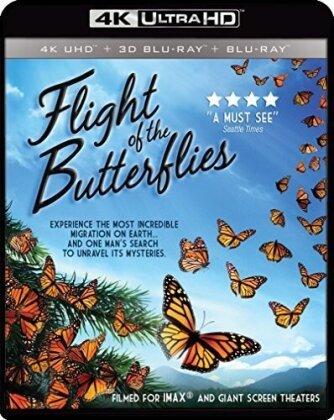 Flight of the Butterflies (4K Mastered, Imax, 4K Ultra HD + Blu-ray 3D + Blu-ray)