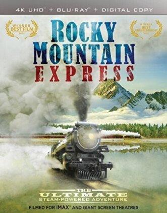 Rocky Mountain Express (2011) (4K Mastered, Imax, 4K Ultra HD + Blu-ray 3D + Blu-ray)
