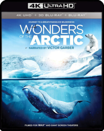 Wonders of the Arctic (4K Mastered, Imax, 4K Ultra HD + Blu-ray + Blu-ray 3D)