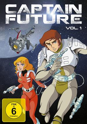 Captain Future - Vol. 1 (Remastered, 2 DVDs)